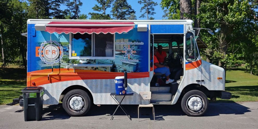 Virginia school district buys food truck to provide students with free meals during summer
